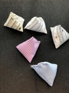 Five-Stone Game (Up-cycled cloth)